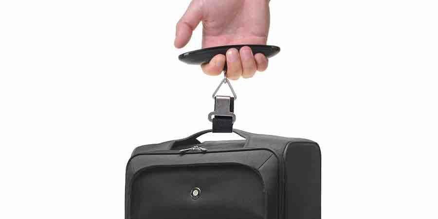 bascula para pesar maletas de viaje